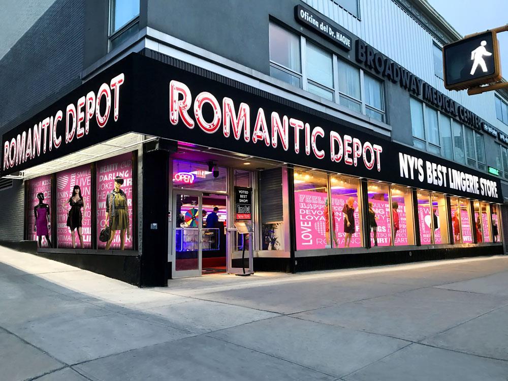 Romantic Depot Manhattan In New York Ny