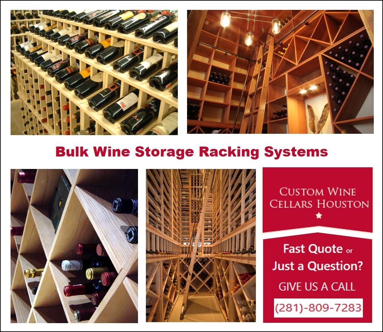 Metal Racks for Building Contemporary Custom Wine Cellars ... |Wine Cellar Houston